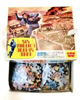 Vintage Six Million Dollar Man, Whitman / England 1976 224 Piece Puzzle Complete