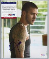 JUSTIN TIMBERLAKE -IN TIME-ALPHA DOG- 8x10 Signed Autograph-PSA COA