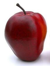 Artificial Single Delicious Apple Fake Red Apple, 2.75""