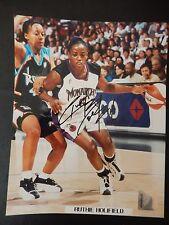 """Ruthie Bolton Autographed 8"""" X 10"""" Photograph"""