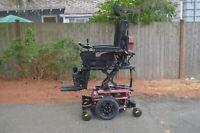 "2018 Quantum Edge 3 QLogic Wheelchair 12"" Seat Lift (ilevel), Recline, Tilt, Leg"