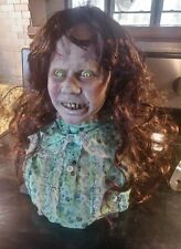 Possessed  horror resin BUST on stand
