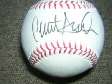 Clint Hurdle signed in person OML baseball
