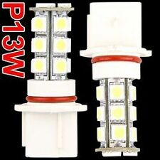 2 AMPOULE LED P13W 18 LED TRES PUISSANTE BLANC XENON SANS ERREUR ODB CANBUS