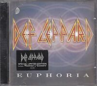 DEF LEPPARD - euphoria CD limited edition 3D jewel case