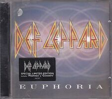 DEF LEPPARD - euphoria CD limited edition 3D jewel case