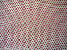 Pink Metallic Mesh Nett 1 way stretch 50cm x 150cm Dance Costumes Craft