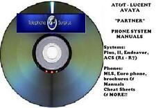 Avaya Partner Phone System Cd Manual User Guides Quick Reference A Must Have