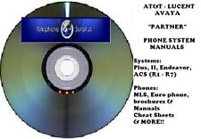 Avaya Partner Phone System CD Manual (User Guides, Quick Reference!) A Must Have