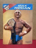 SUPER RARE!! 1985 Topps WWF 3-D Pro Wrestling Stars Hulk Hogan