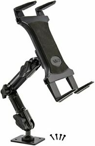 Arkon Heavy Duty Tablet Wall Drill Base Mount with 8 inch Arm for iPad Air...