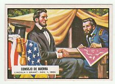 Topps A&BC Civil War News Gum Card Spain Spanish language printing #79