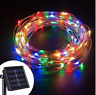 100/200 LED Solar Fairy Light Copper String Wire Strip Lighting Party Garden