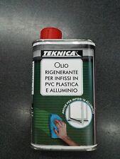 Olio Rigenerante per Infissi in PVC plastica e alluminio ritonificante Teknica