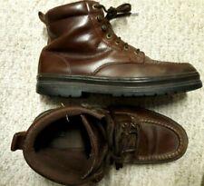 Gorgeous NUNN BUSH Brown LEATHER Men Size 10.5 M Lace-Up Boots