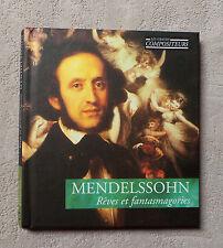 CD AUDIO/ MENDELSSOHN MUSICAL MASTERPIECES CD ALBUM & BOOK LIVRE N°12 CLASSIC