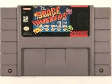 Space Invaders (Super Nintendo Entertainment System SNES, 1997) TESTED WORKING!