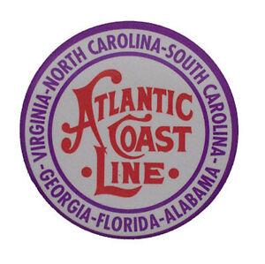 Atlantic Coast Line ACL Railroad Magnet #58-1020