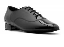 Black patent Topline Standard V101 ballroom/latin dance shoes - size UK 5.5