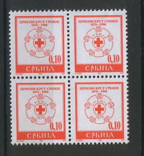 Serbia Block Red Cross Postal Stamps