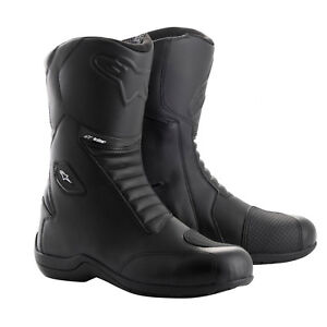 Alpinestars Andes V2 Drystar Waterproof Touring Motorcycle Boots - Black