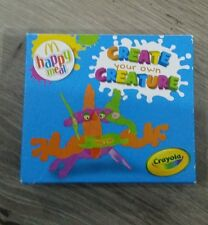 Mcdonalds Happy Meal Toy Crayola Create Your Own Creature 2013