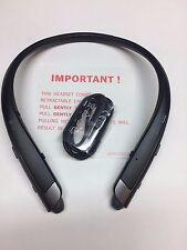 Genuine LG Tone Platinum HBS-1100 Bluetooth Headset Harman Kardon black