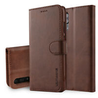 For Huawei Mate 20 P20 Pro P30 Lite Magnetic Flip Leather Wallet Card Case Cover
