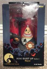 """Nightmare Before Christmas Mayor Mini Bust Up 8"""" Figurine Series 1 Nib"""