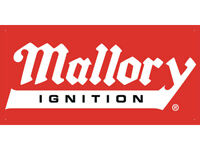 vn0948 Mallory Ignition Car Auto Parts Club Shop Display Advertising Banner