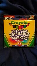 Crayola (Bold Colors) Ultra Clean Washable Markers- 10 Count