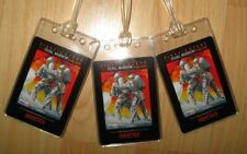 Gentex Firefighter Luggage Tags - Dual Mirror Heat Textile Fireman Tag Set (3)