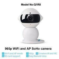Wi-Fi Indoor HD 960P Visione Notturna Videocamera IP Robot Sicurezza CCTV WEBCAM-UK STOCK