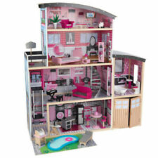 KidKraft Sparkle Mansion Dollhouse Girls Play House - 65826