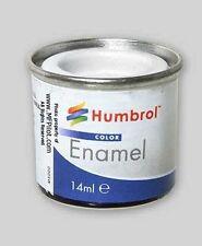 MATTE WHITE - 14ml Humbrol Model Enamel Tin #34