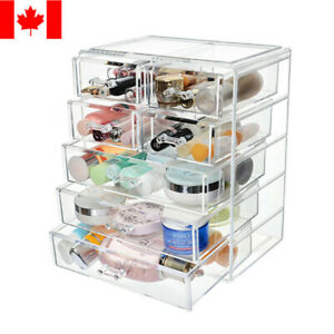 Acrylic Makeup Organizer 7 Drawer Large Compartment Beauty Cosmetic Storage