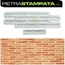 Deep Dry stack Faux ledgestone vertical Concrete Cement Stamps Mats