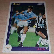 CARD SCORE 1993 LAZIO RIEDLE CALCIO FOOTBALL SOCCER ALBUM