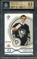 2003-04 private stock rr #134 MARC-ANDRE FLEURY (pop 7)BGS 9.5 (9.5 9.5 9.5 9.5)