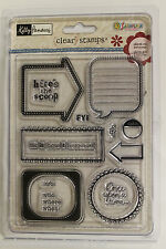 Sandy Lion Kelly Panacci Here's the Scoop Clear Stamps - Once Upon a Time