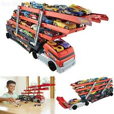 Car Toy Semi Truck Hot Wheels Carrier Mega Hauler Lot 50 Hot Vehicles Game Gift
