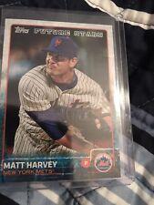 2015 Topps Future Stars Matt Harvey