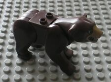 RARE Personnage ours LEGO minifig animal Bear 13866 - 99964 / Set 4438 & 4440