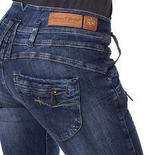 Freeman T Porter Amelie stretch Denim eris Damen Jeans Hose straight W24-W33 Neu