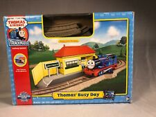Thomas & Friends TRACKMASTER - THOMAS' BUSY DAY Starter Set W/ Train Engine
