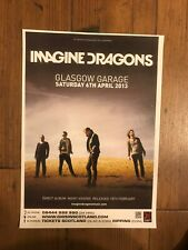 Original Imagine Dragons 2013 Concert Poster