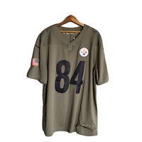 Pittsburgh Steelers Salute To Service Antonio Brown #84 Nike Football Jersey XL