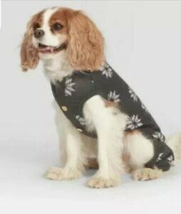 NEW Dog Fair Isle Holiday Pajamas S Hearth & Hand Magnolia Snowflakes Grey