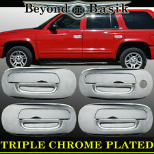 1998-2003 DODGE DURANGO 97-04 Dakota Chrome Door Handle Covers W/O PSK Overlays
