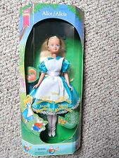 Disney Euro ALICE/ALICIA in WONDERLAND Fairytale doll Barbie Skipper Mattel 1994